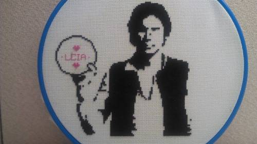 WhateverJames - Han Stitched First - Cross Stitch