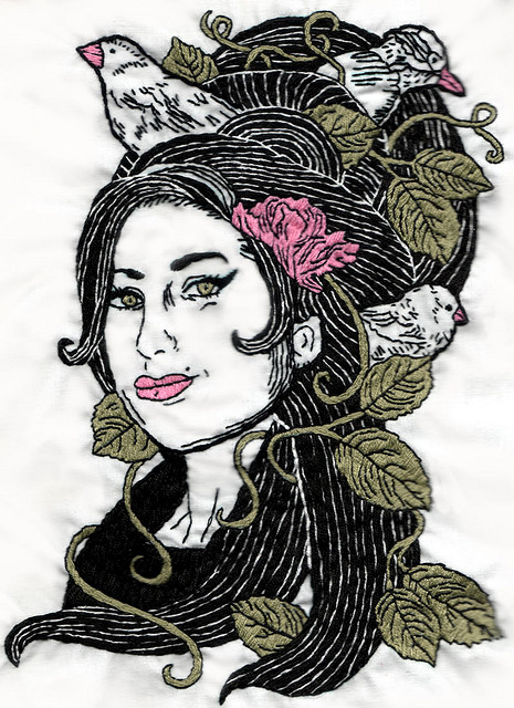 Stitchgasm! – Amy Winehouse by Totally Severe