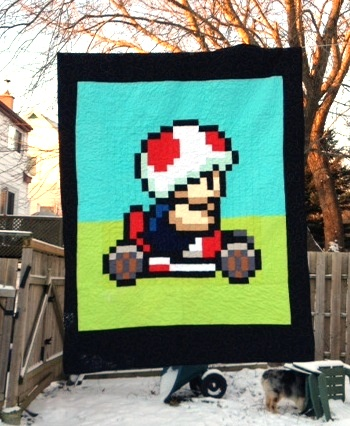 Candy Coated Quilts' Toad Quilt