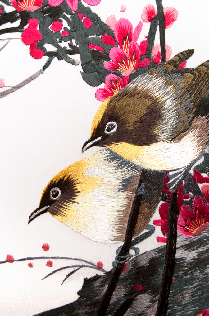 Using Digitizing to Recreate Traditional Silk Embroidery