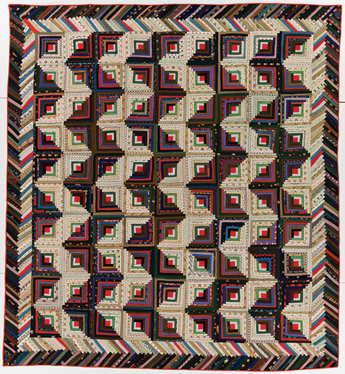 Quilty Pleasures – Log Cabin Quilts Kick it Old Skool