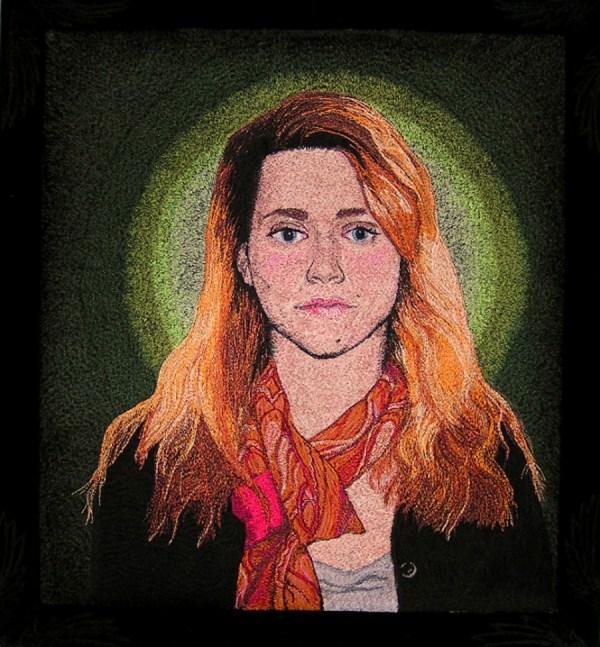 Amy Fredman - Anna - Machine Embroidery
