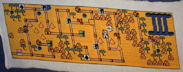 super mario bros 3 map by blink190