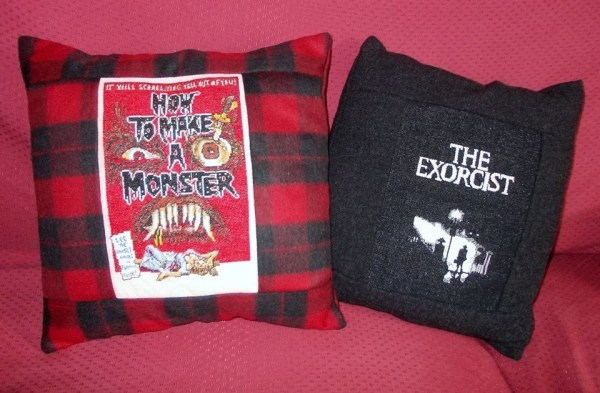 Monster & Exorcist Pillows By Lisa Adams