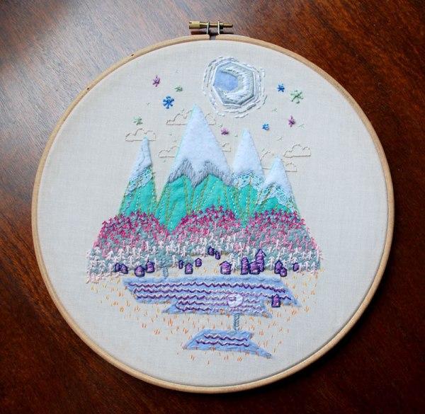 mountain hoop by hellofoss