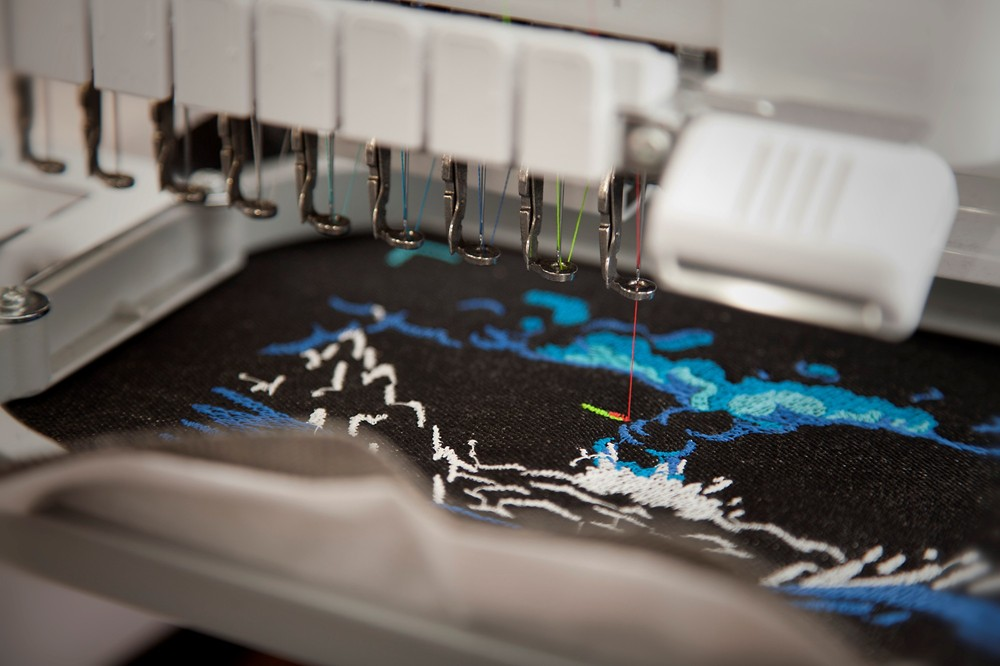 Epic Machine Embroidered Heavy Metal Video