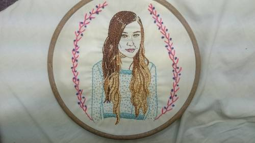 Craftster Pick of the Week – Joanna Newsom Hand Embroidery