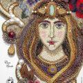 Olga Orlova - Queen of the Garden (detail)