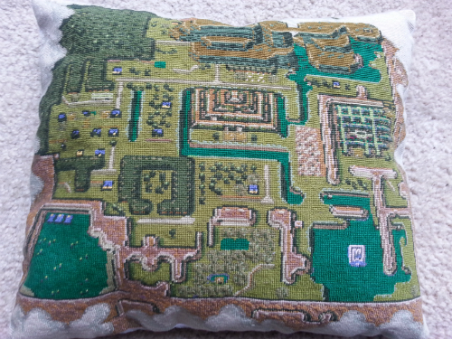 link to the past pillow 2 by lpgeorge123
