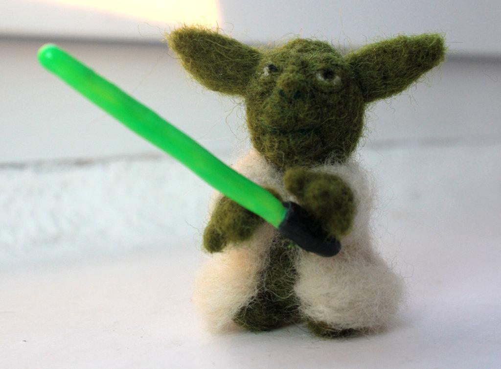 Stitchgasm – Needle Felted Yoda