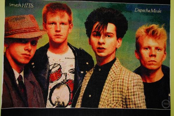 Natasha's Depeche Mode Cross Stitch