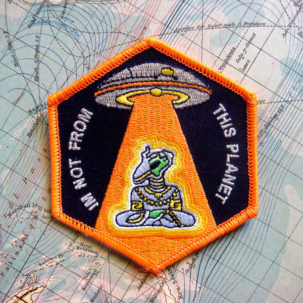I'm Not From This Planet Patch by Gnosick