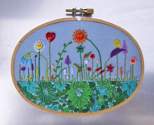 Hoop Garden by The Grumpy Crafter (Hand Embroidery)