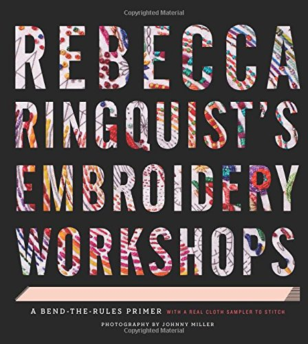 Book Review – Rebecca Ringquist's Embroidery Workshops