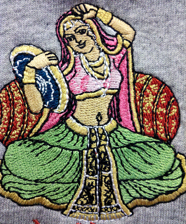 Sunderi Imports Logo - Woman - Digitized by Erich Campbell