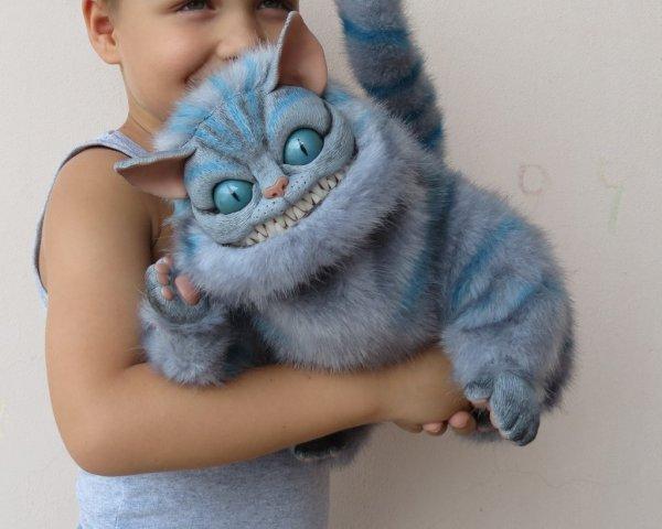 Cheshire Cat Art Doll by Vladimir Sukhanov