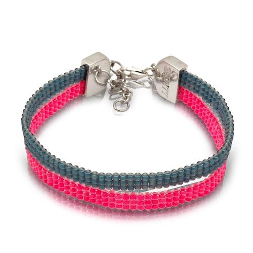 Beaded Bracelet by La Luna Rose (Hand Beading)