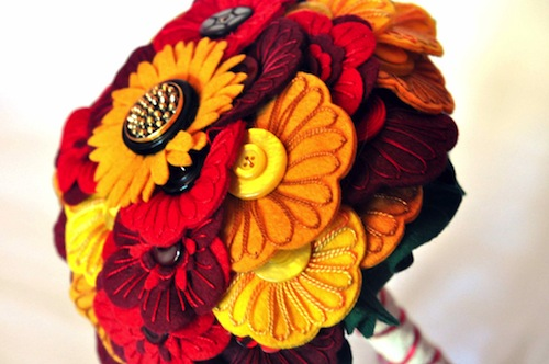Autumn Bouquet by Charlotte Laurie Designs (Hand Embroidery)