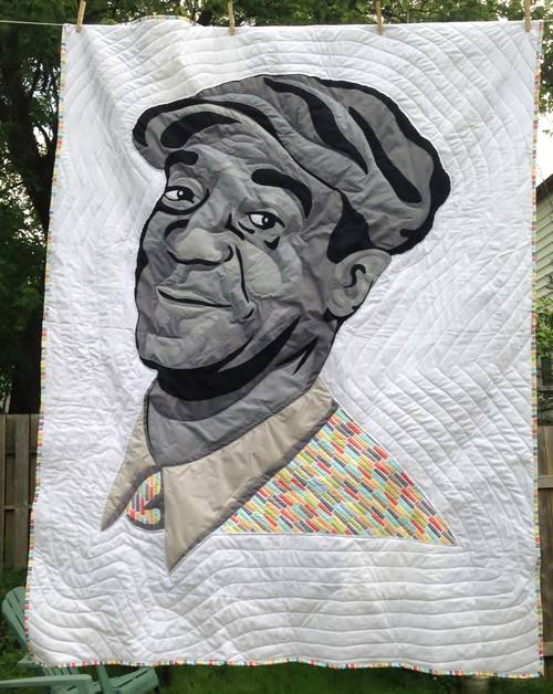 Craftster Pick of the Month – Semel's Bill Cosby Quilt