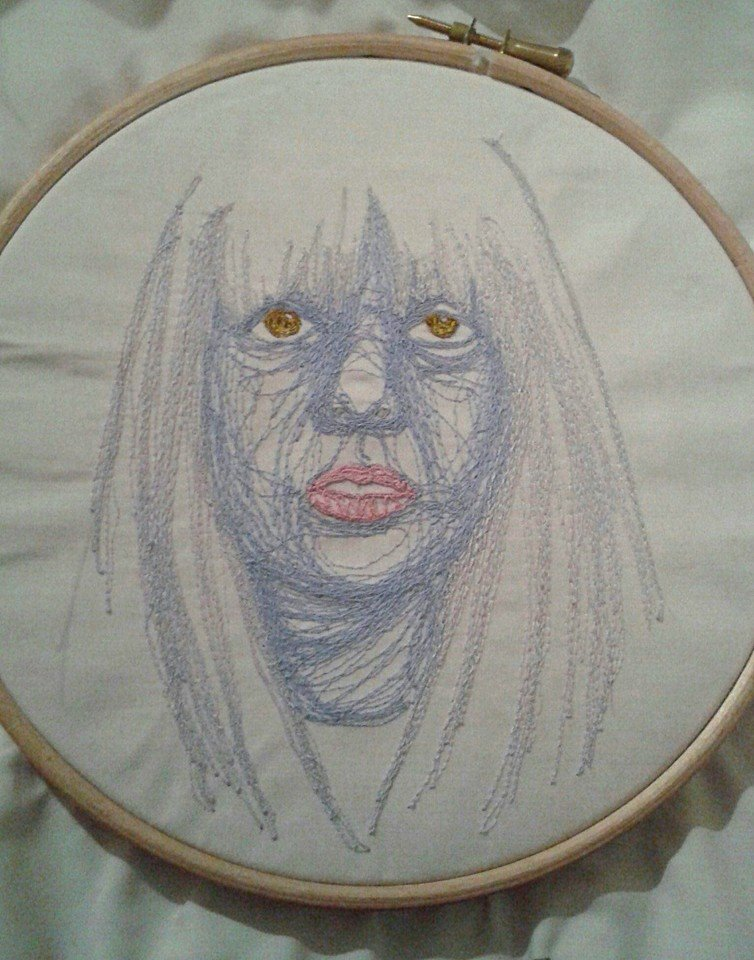 Stitchgasm – t-t-l-sis12's Machine Embroidered Self Portrait