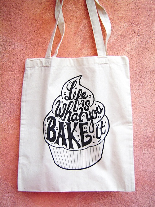 Cupcake Tote by Totes Crafty