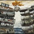 Lorraine Roy - Precarious - Machine Embroidery
