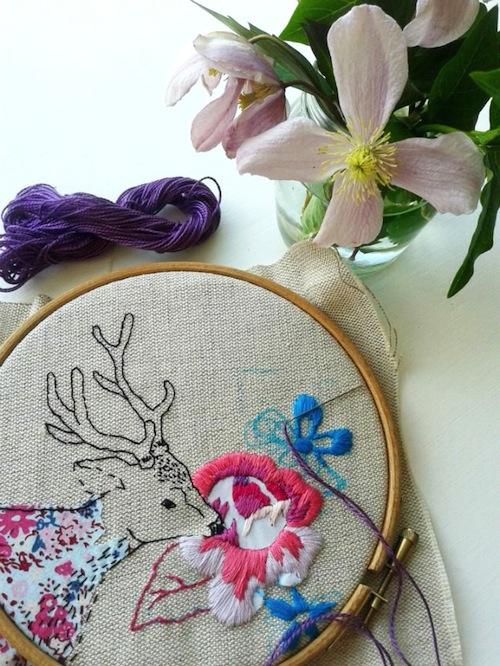 Jenny Blair Art - Embroidery Kit