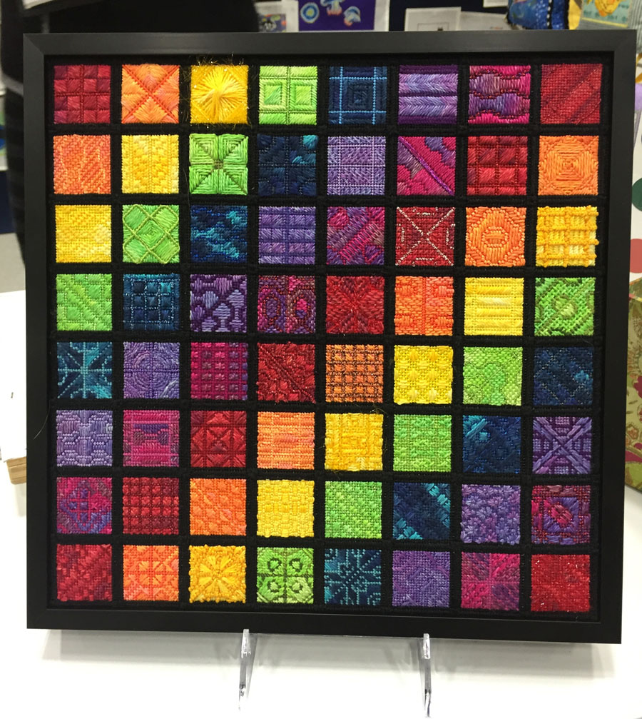 Recreating sound waves in stitches