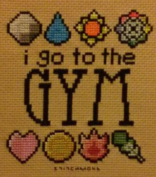 pokemon gym by stitchmond