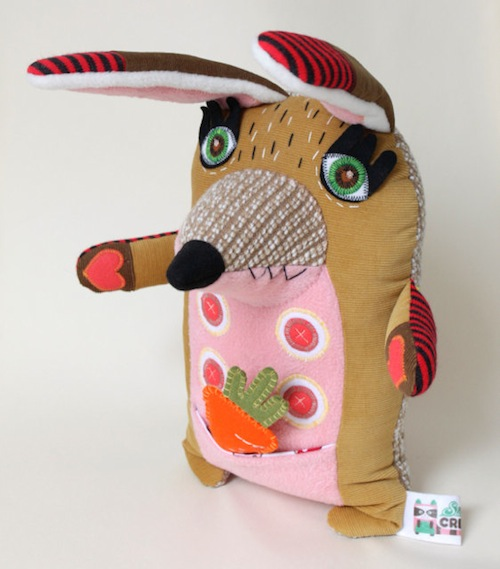 Stitched Creatures - Webster the Bunny