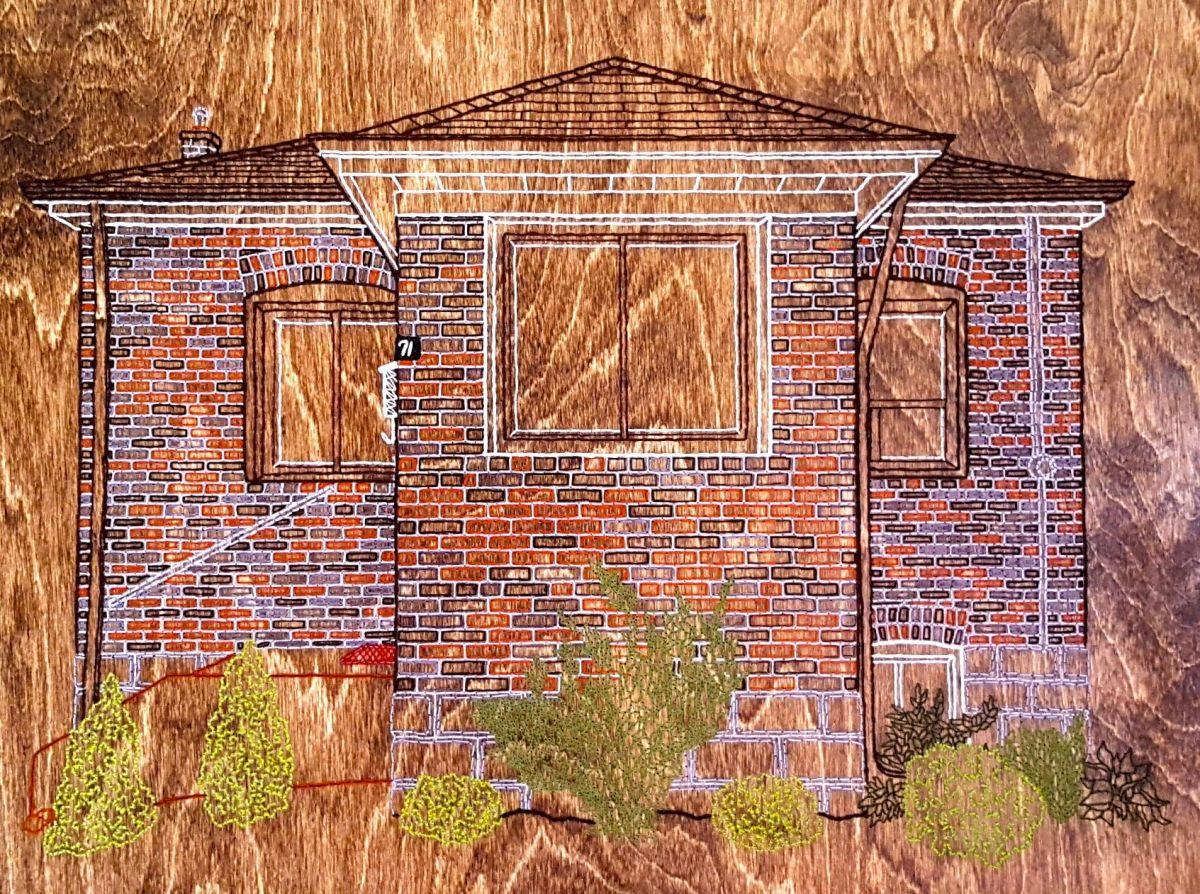 Stitchgasm! Birch House by Casey Von Esteban