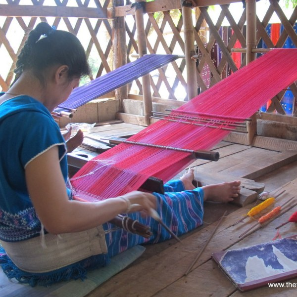 Mr X Stitch Textile Encounters Lao Karen Weaving