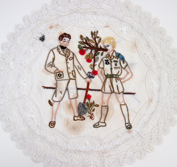 Eran Inbar - With a Song in Heart and a Shovel in Hand - Hand Embroidery