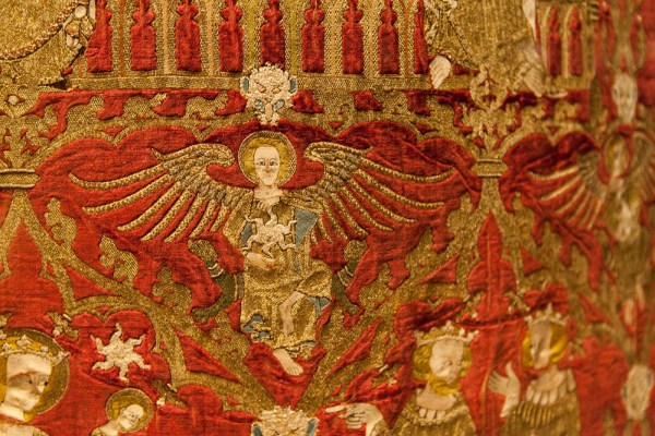 Detail of the Chichester-Constable Chasuble - 1335