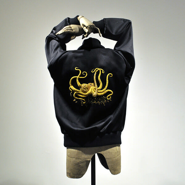 Octopus jacket, by Annalisa Middleton