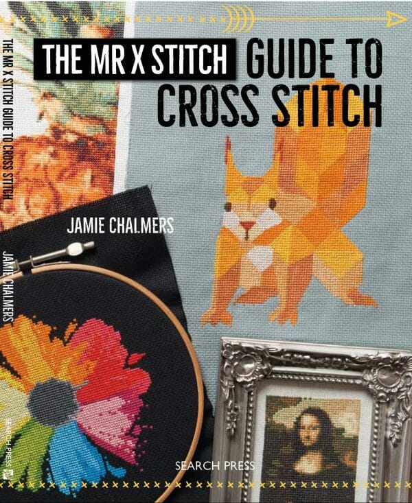 The Mr X Stitch Guide to Cross Stitch Front Cover