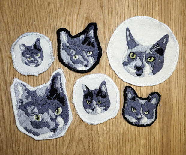Becky Stern's Cat Patches