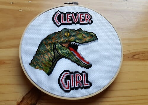 Son of a Cross Stitch - Clever Girl