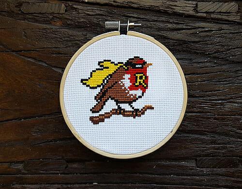Son of a Cross Stitch - Robin