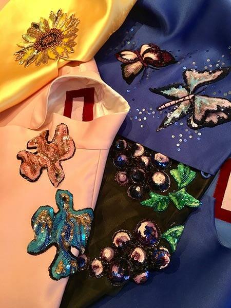Embroidered motifs, Elena Savelyeva