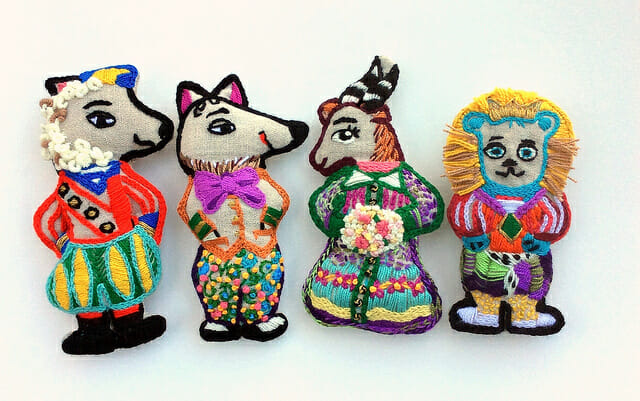Too Cute Tuesday – Pocket Dolls by Jacque Davis