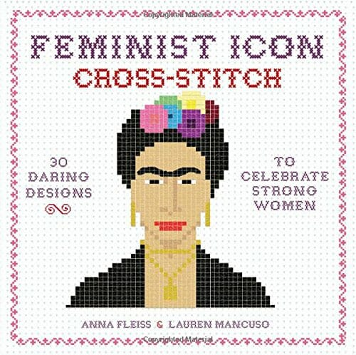 Feminist Icon Cross Stitch Cover