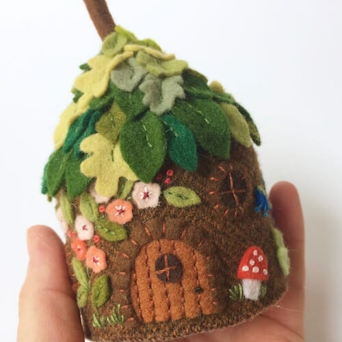 Fabric And Ink - Fairy House