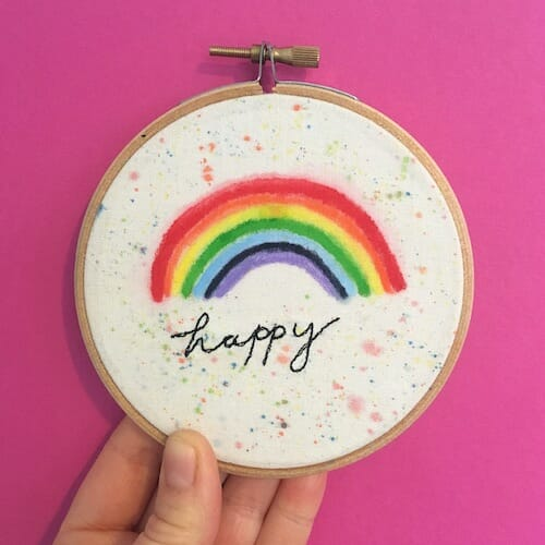 Thread Friends - Happy Hoop
