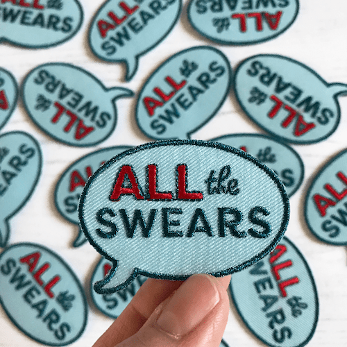 Auntie Mims - All the Swears Patch