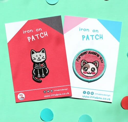 Innabox - Cat Scan Patch and Judging Cat Patch