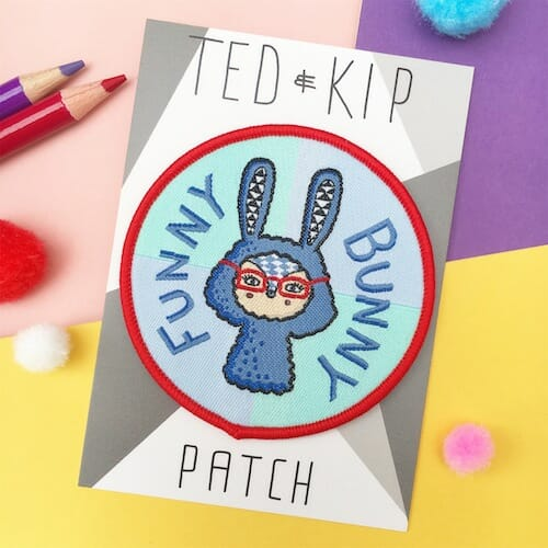 Ted and Kip - Funny Bunny Patch
