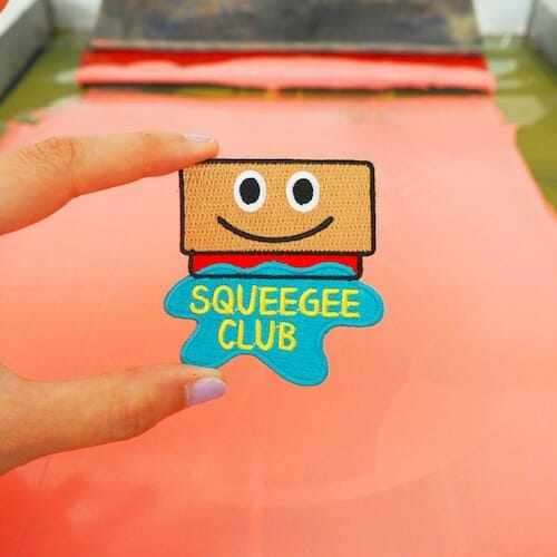 hello DODO - Squeegee Club Patch