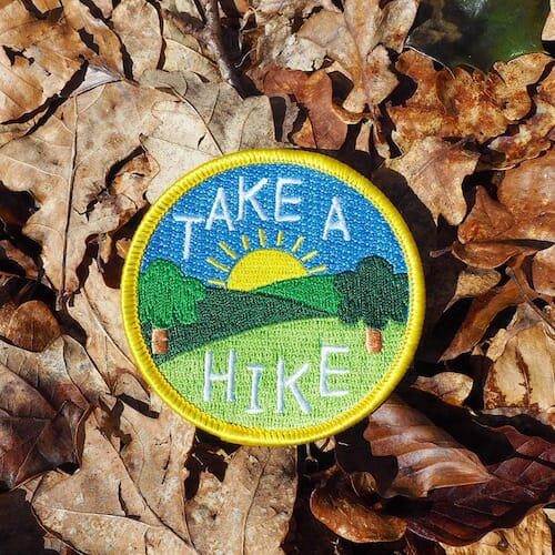 hello DODO - Take a Hike Patch