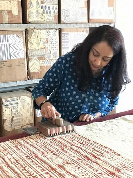 Shila Desai, block printing, Eat Your Heart Out Tours